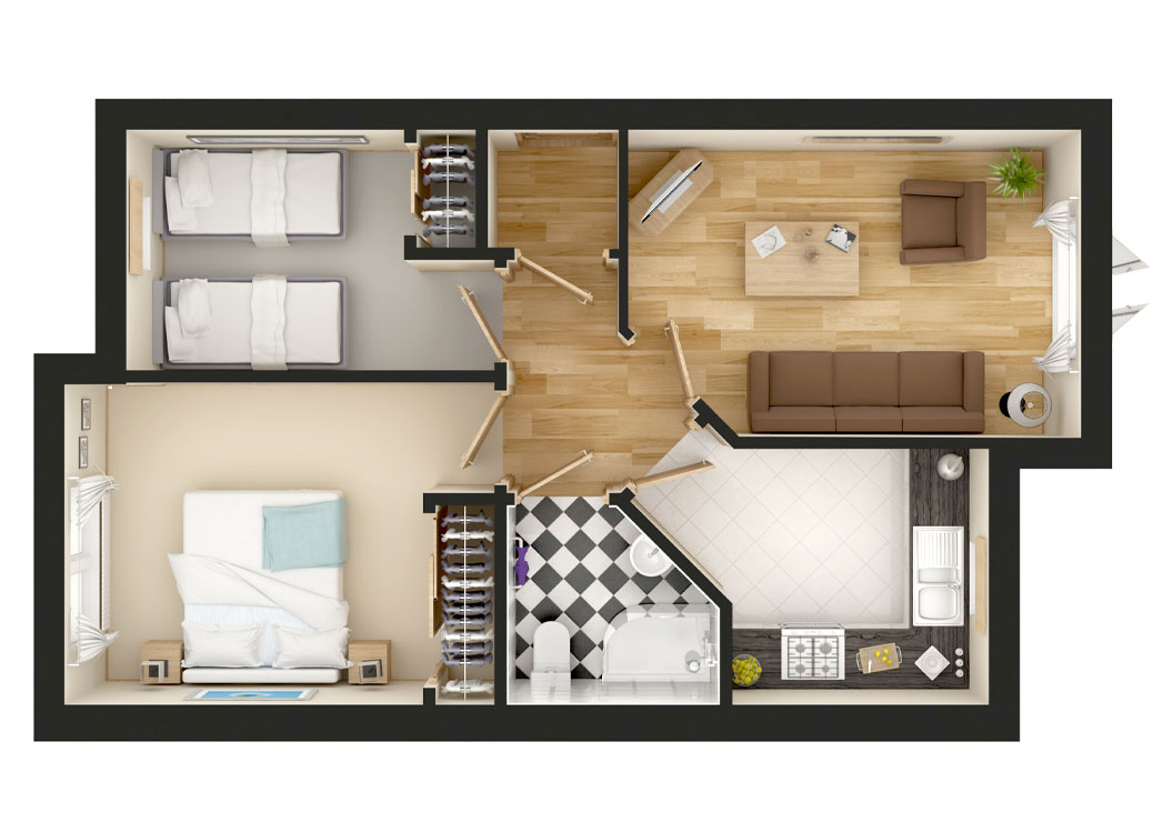 Cara - Floorplan